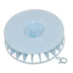 Hélice-turbina secadora