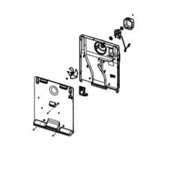 Conjunto soporte+ventilador congelador Daewoo